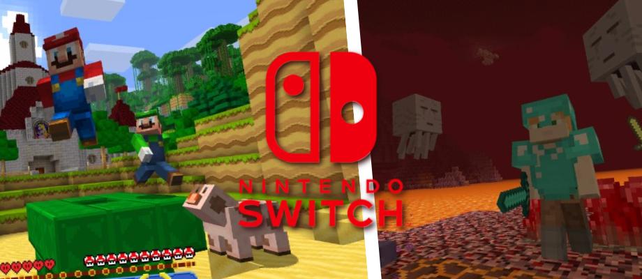 Minecraft Erscheint Für Die Nintendo Switch Bestehede - Minecraft spiele fur nintendo